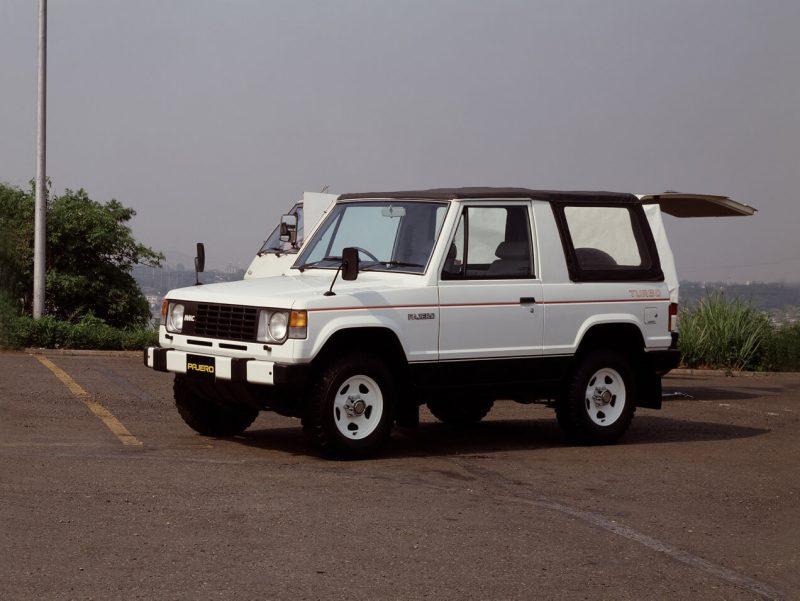 Трехдверный Mitsubishi Pajero