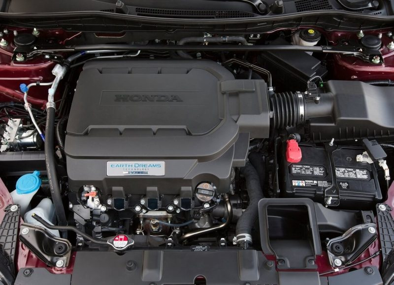 Honda Accord двигатель