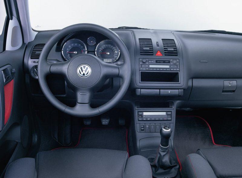 Салон Volkswagen Polo III
