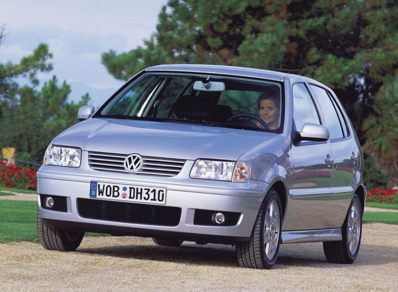 Вид спереди Volkswagen Polo III
