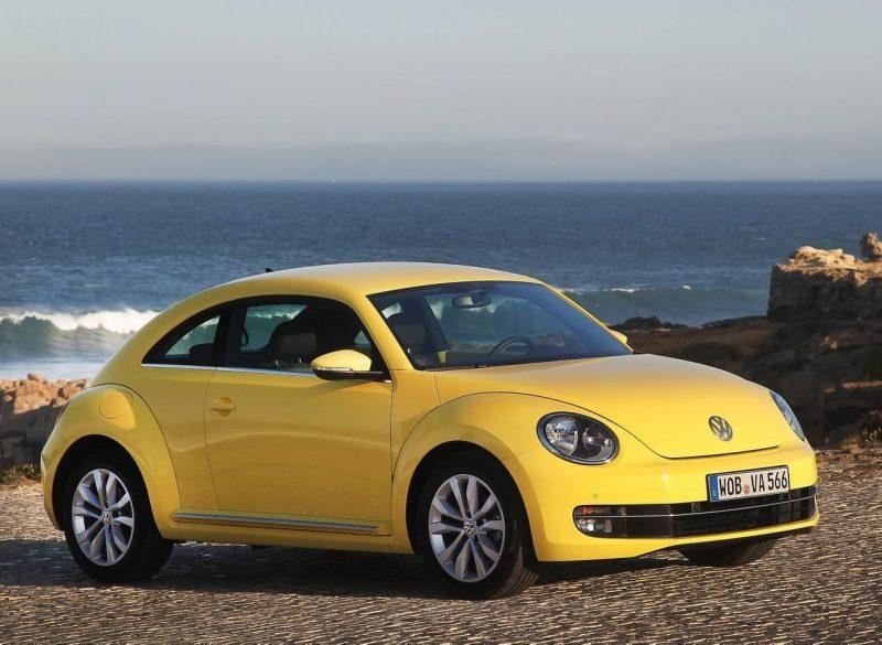Обновленный Volkswagen Beetle