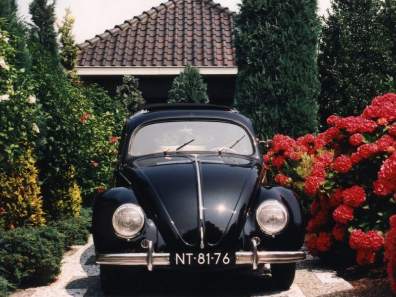 Вид спереди Volkswagen Käfer