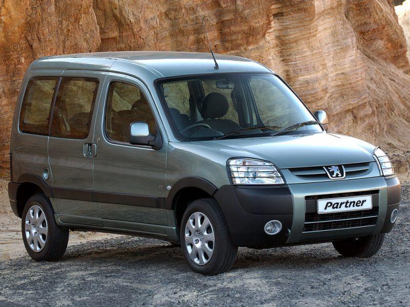 Фото Peugeot Partner I поколения рестайлинг