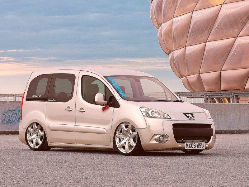 Фото тюнинг Peugeot Partner