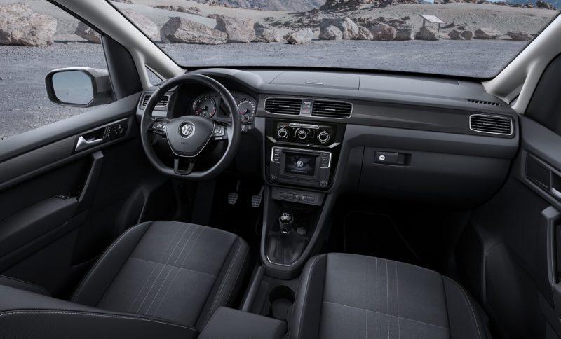 Салон Volkswagen Caddy IV