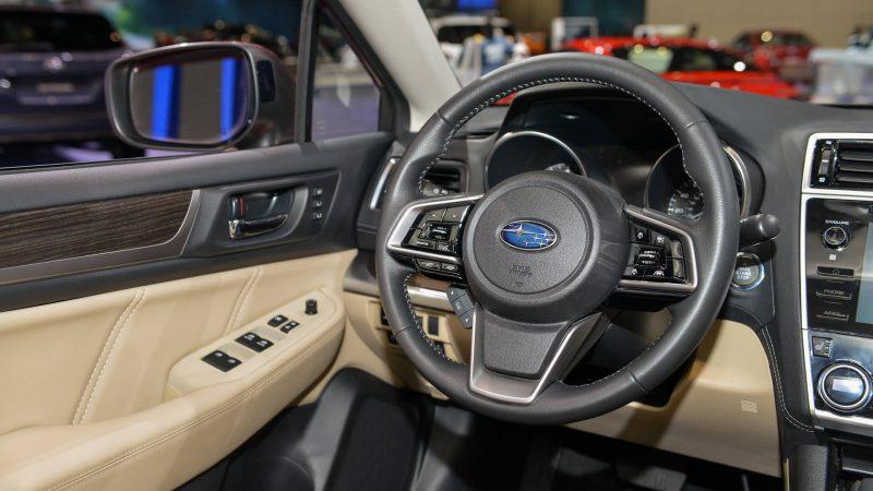 Руль Subaru Legacy
