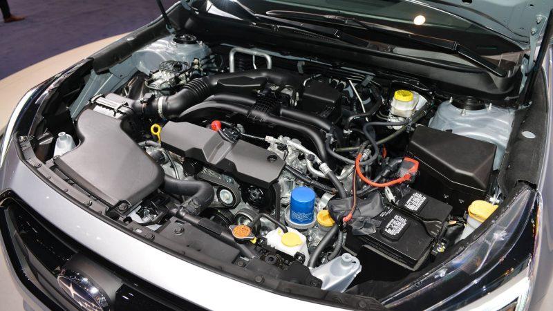 Subaru Legacy двигатель