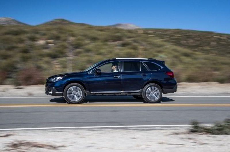 Фото нового Subaru Outback V