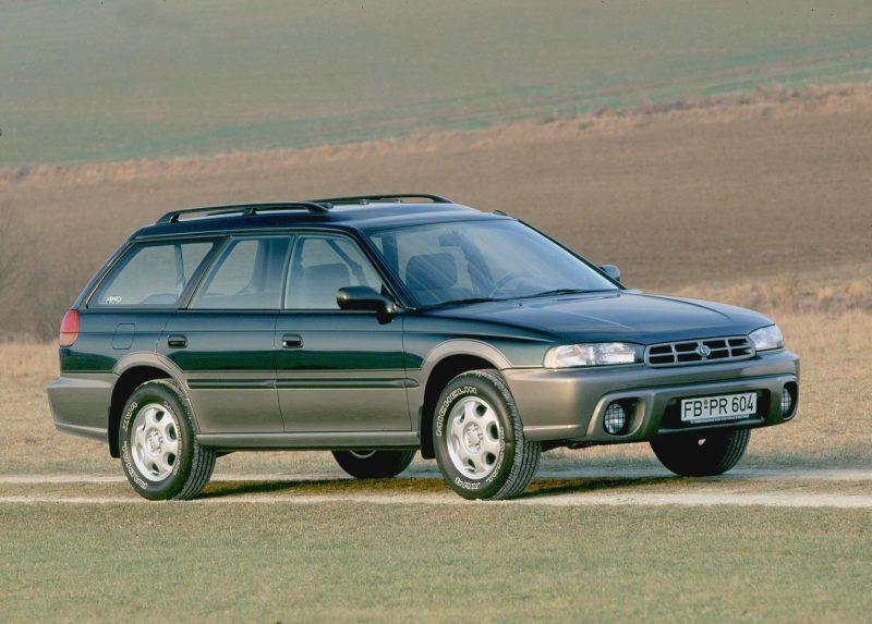 Фото Subaru Legacy Outback