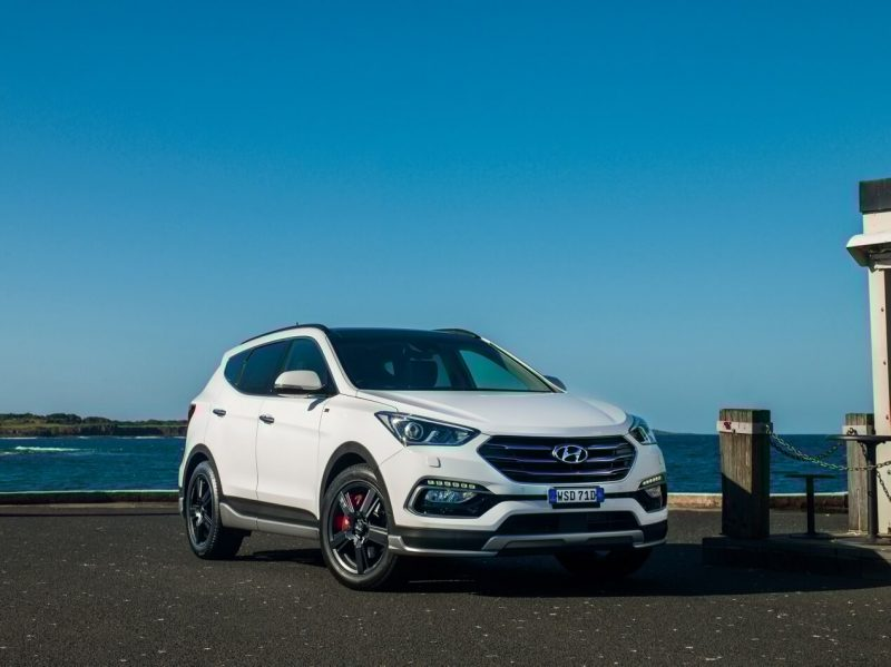 рестайлинг Hyundai Santa Fe 3