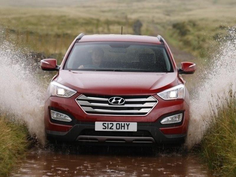 Hyundai Santa Fe фото авто