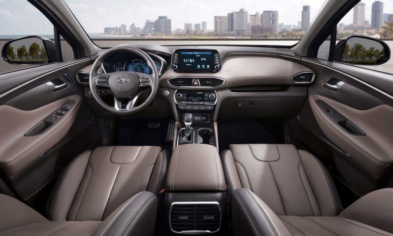 Интерьер Hyundai Santa Fe IV