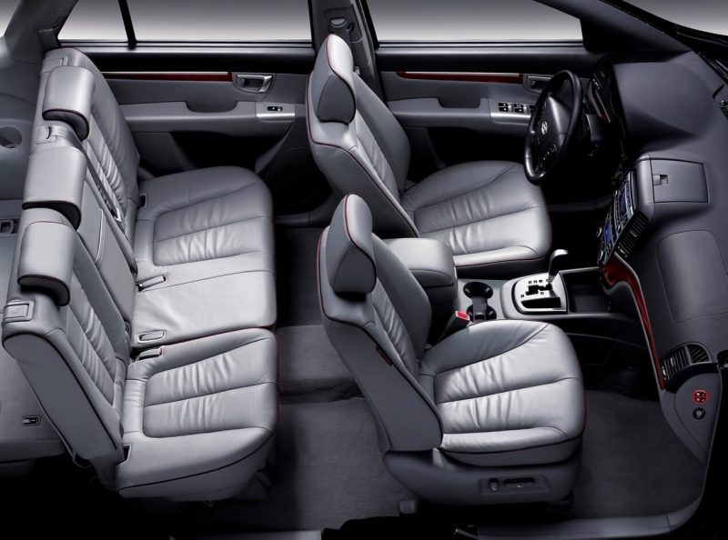 Салон Hyundai Santa Fe II