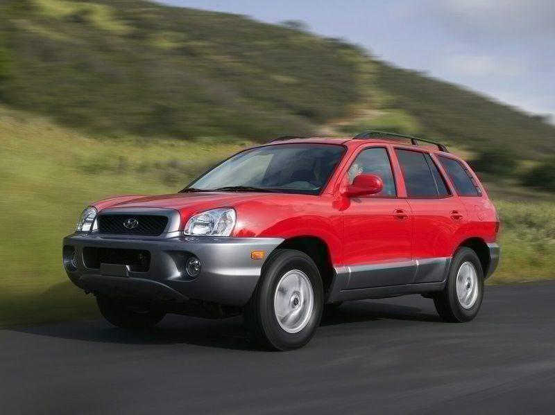 Hyundai Santa Fe 2001 года