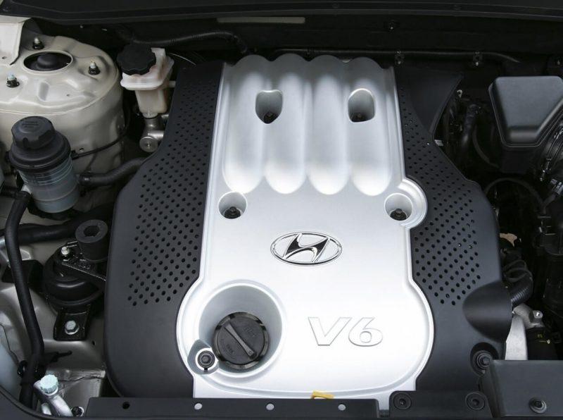 Hyundai Santa Fe II двигатель