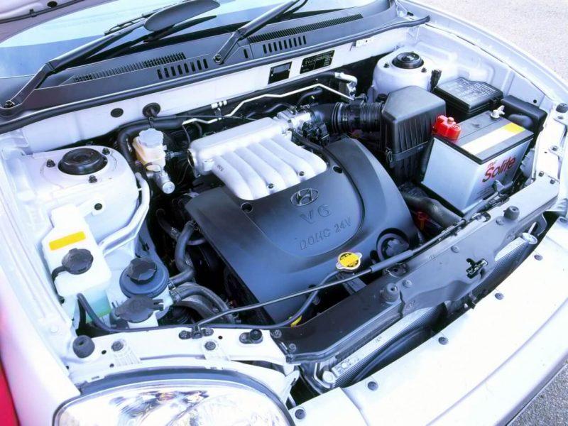 Hyundai Santa Fe двигатель