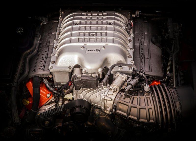 Jeep Grand Cherokee Trackhawk двигатель