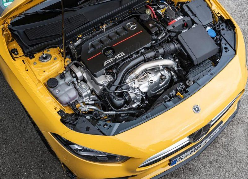 Mercedes-Benz A35 двигатель