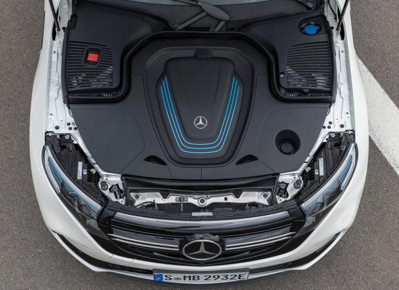 Двигатель Mercedes-Benz EQC