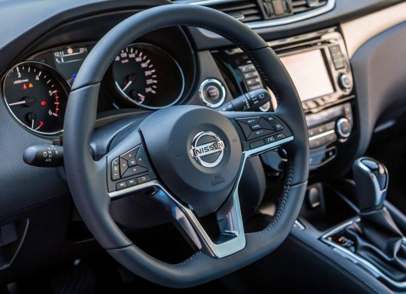 Рулевое колесо Nissan Qashqai