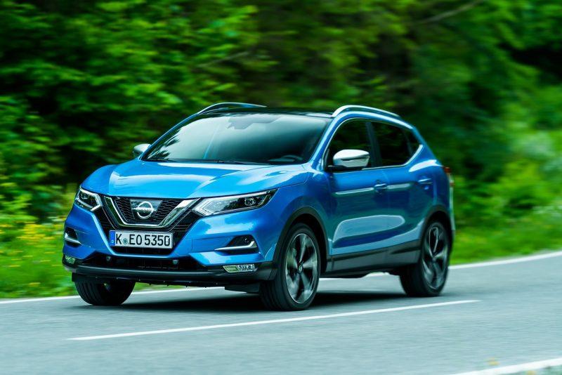 Яркий Nissan Qashqai 2018 получил новый турбомотор