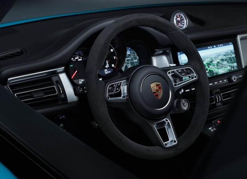 Рулевое колесо Porsche Macan