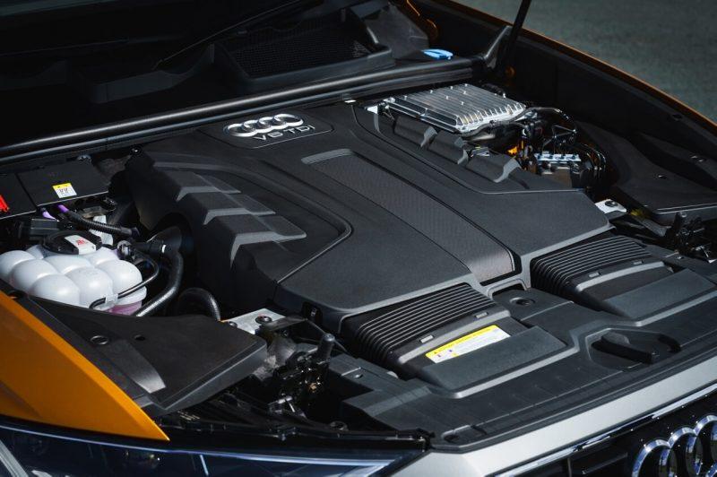 Audi Q8 двигатель