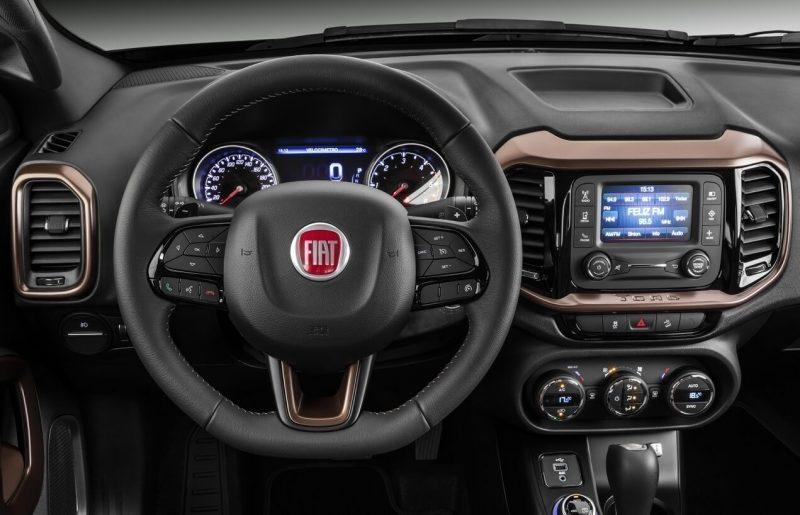 Fiat Toro – неформатный итальянский пикап