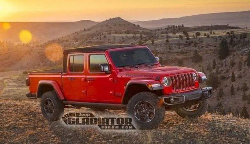 Авто Jeep Gladiator