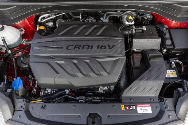 Kia Sportage двигатель
