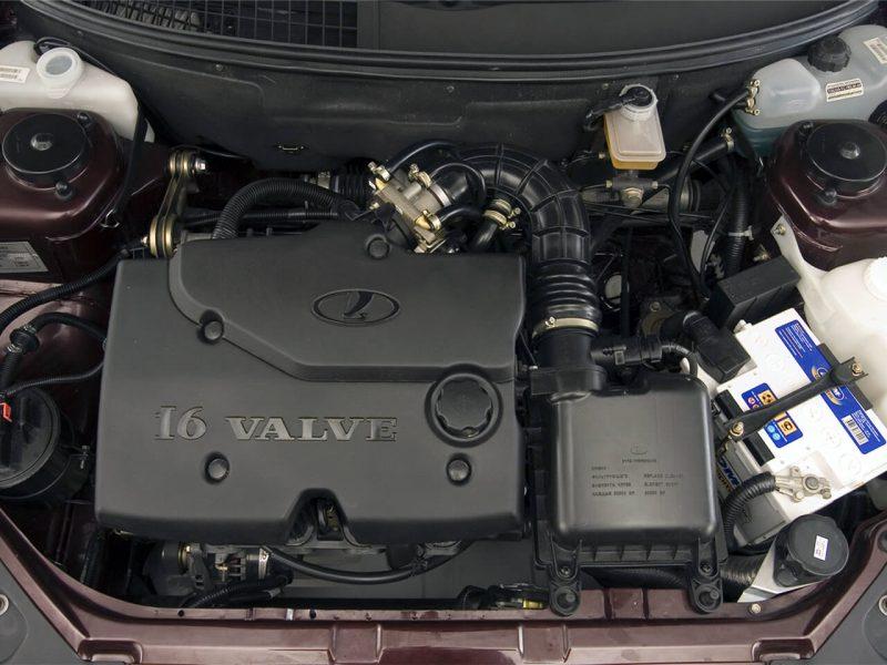 Lada Priora двигатель