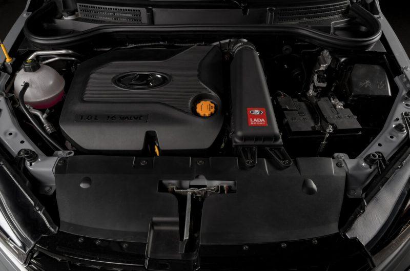 Lada Vesta Sport двигатель