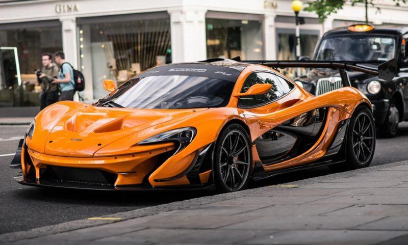 Фото McLaren P1 LM