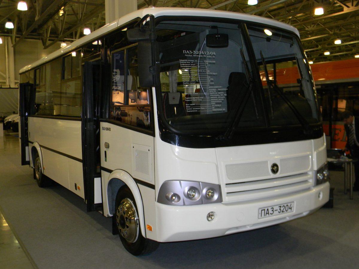 Обновленные автобусы ПАЗ
