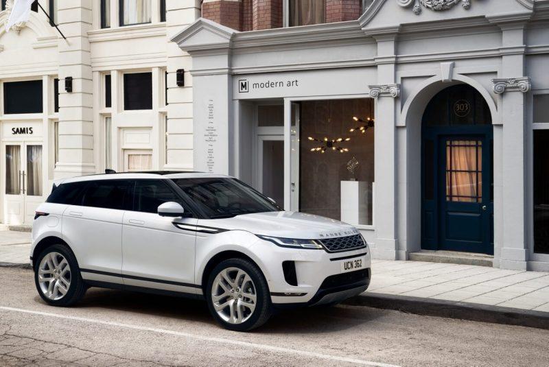 Авто Range Rover Evoque
