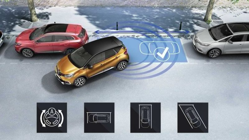 Renault Kaptur System Easy Park Assist