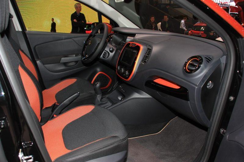 Renault Kaptur тюнинг салона