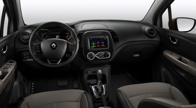 Интерьер Renault Kaptur Extreme