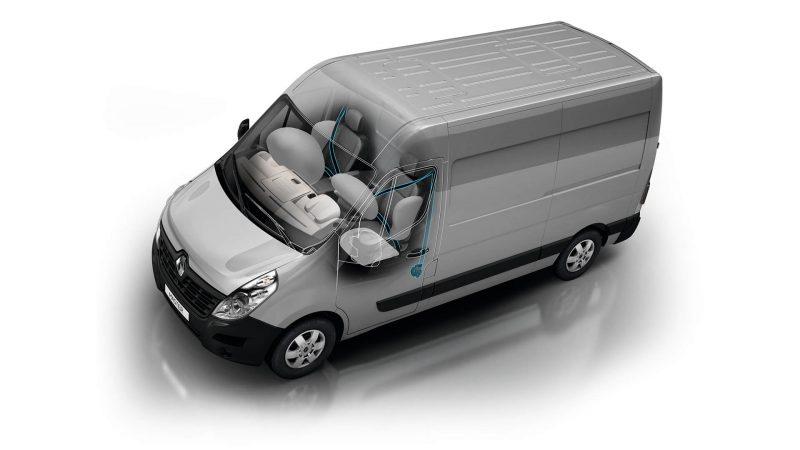 Безопасность Renault Master