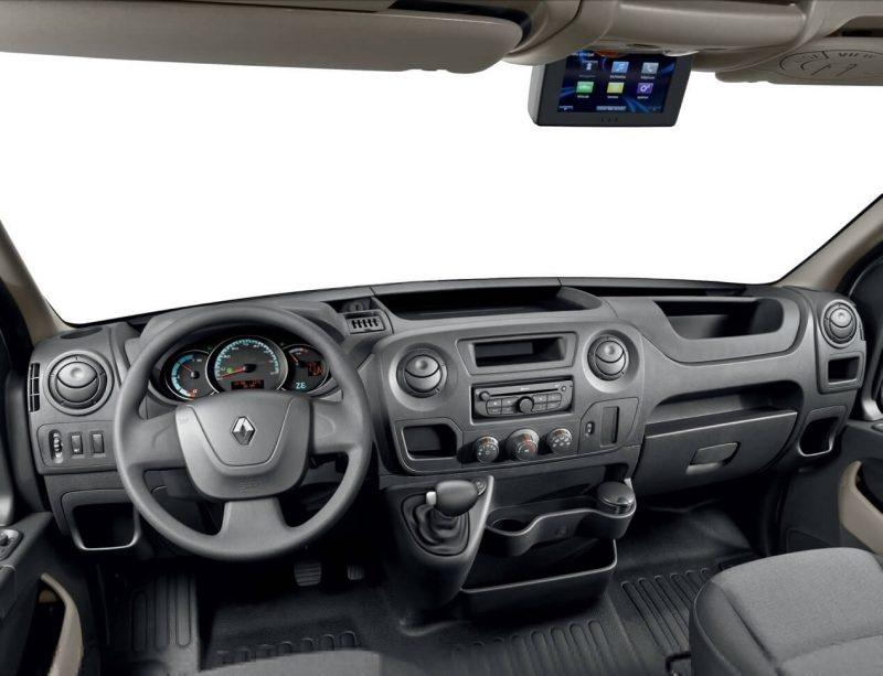 Салон Renault Master 3