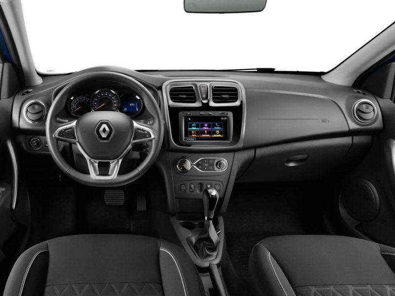Салон нового Renault Sandero