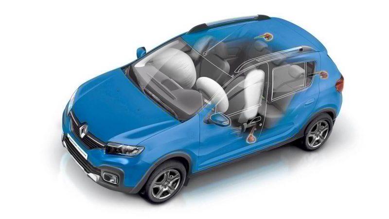 Безопасность Renault Sandero Stepway
