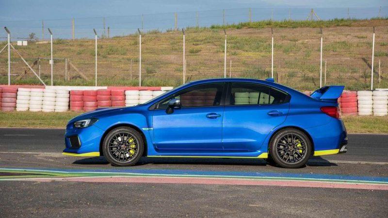Subaru представила 348-сильный серийный седан для Южной Африки