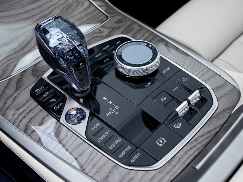 BMW X7 коробка передач
