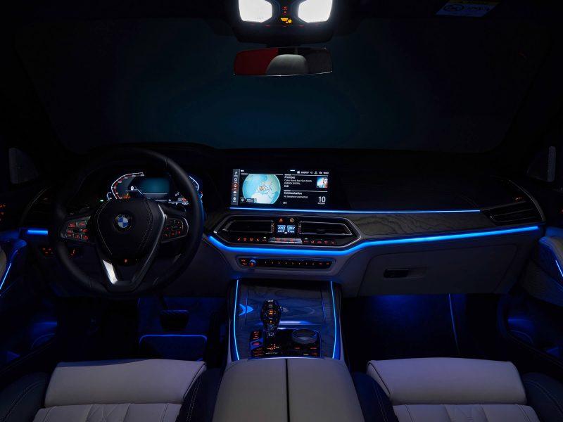 Подсветка салона BMW X7
