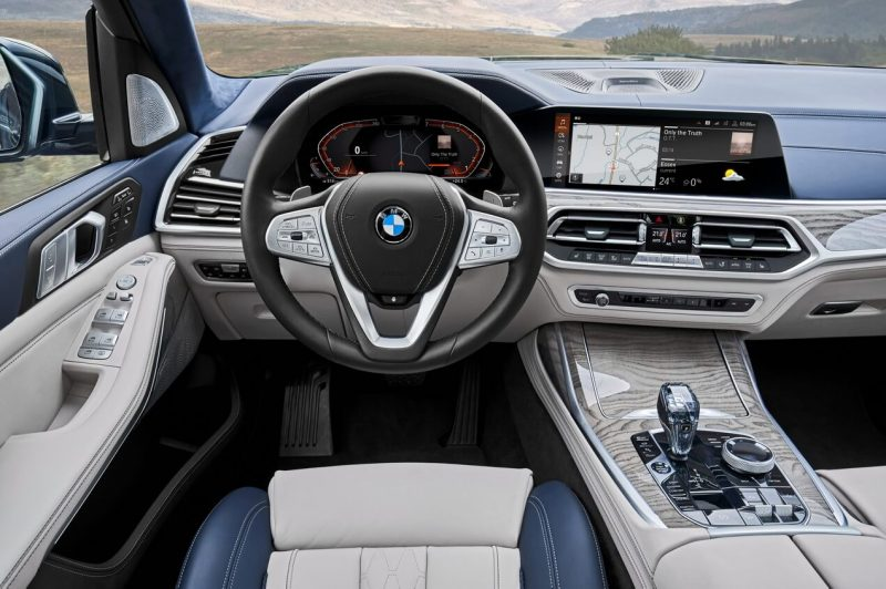 Рулевое колесо BMW X7