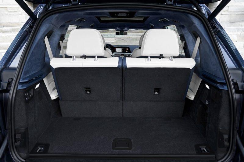 Багажное отделение BMW X7