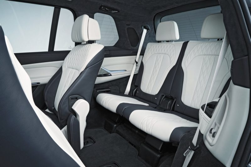 BMW X7 фото салона