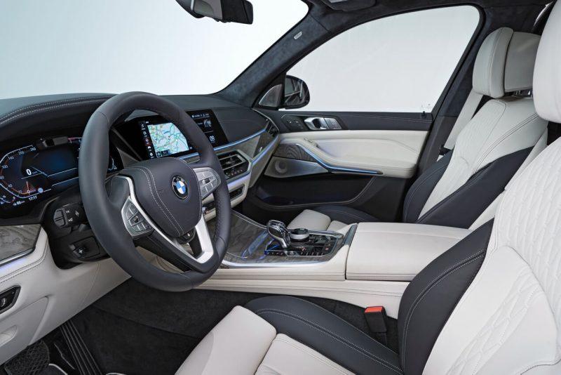 Передние сиденья BMW X7