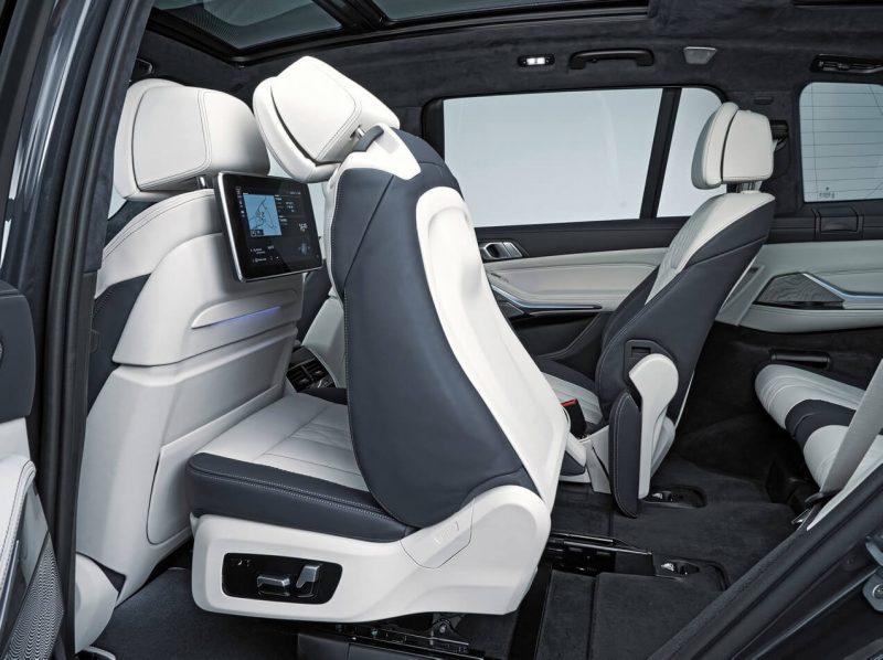 Второй ряд BMW X7